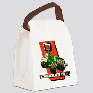 Oliver 1950 Tractor Canvas Lunch Bag