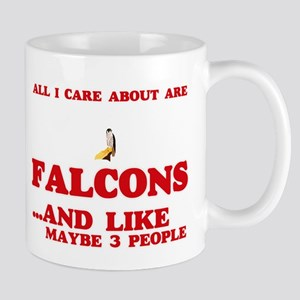 All I care about are Falcons Mugs