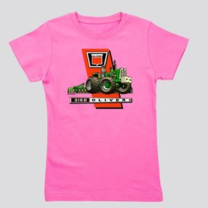Oliver 2150 tractor Girl's Tee