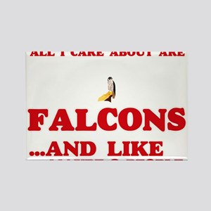 All I care about are Falcons Magnets