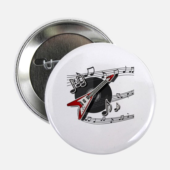 "Unique Rock and roll 2.25"" Button"