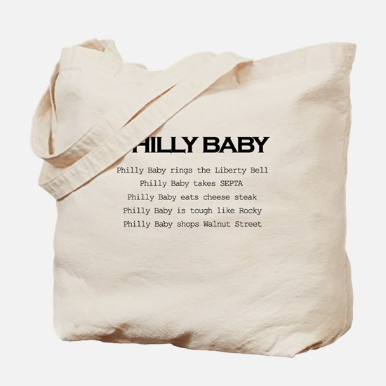 Philly Baby Tote Bag