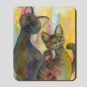 Kitten Monsters Mousepad