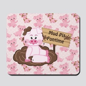 Playing In The Mud Mousepad