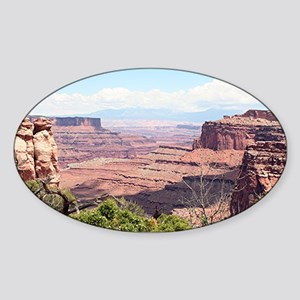 Canyonlands National Park, Utah, US Sticker (Oval)