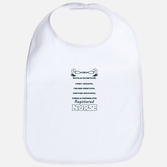 Registered Nurse Baby Bib