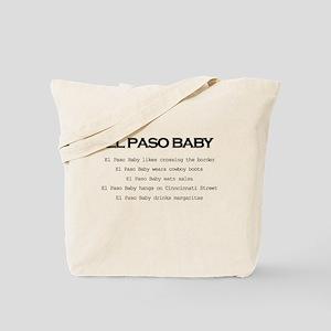 El Paso Baby Tote Bag