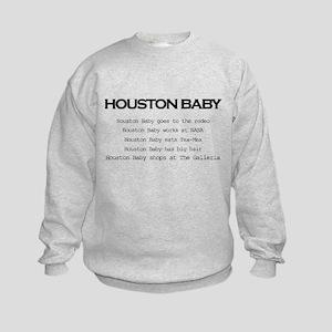 Houston Baby Kids Sweatshirt