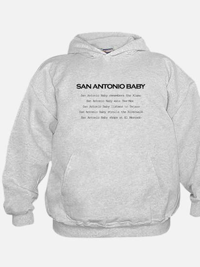 San Antonio Baby Hoodie