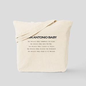 San Antonio Baby Tote Bag