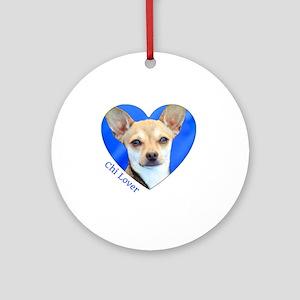 Chi Lover Round Ornament