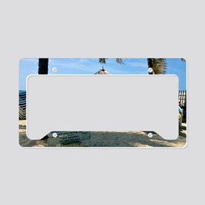 Southernmost Beach License Plate Holder