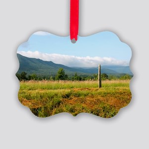 Mountains Picture Ornament