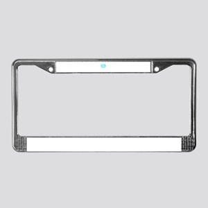 Be Nice To Me I'm Your Nur License Plate Frame
