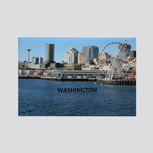 Seattle_2.5x3.5_Ornament(Oval)_Se Rectangle Magnet