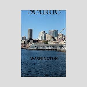 Seattle_5.5x8.5_Journal_SeattleWa Rectangle Magnet