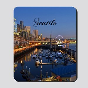 Seattle_5X7_Card_SeattleWaterfront Mousepad