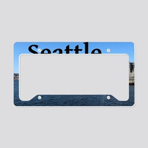 Seattle_5x3rect_sticker_Seatt License Plate Holder
