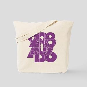 pnk_cnumber Tote Bag