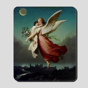 Guardian Angel by Wilhelm Von Kaulbach Mousepad