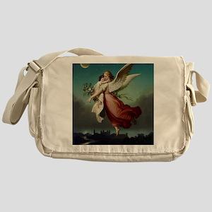 Guardian Angel by Wilhelm Von Kaulba Messenger Bag