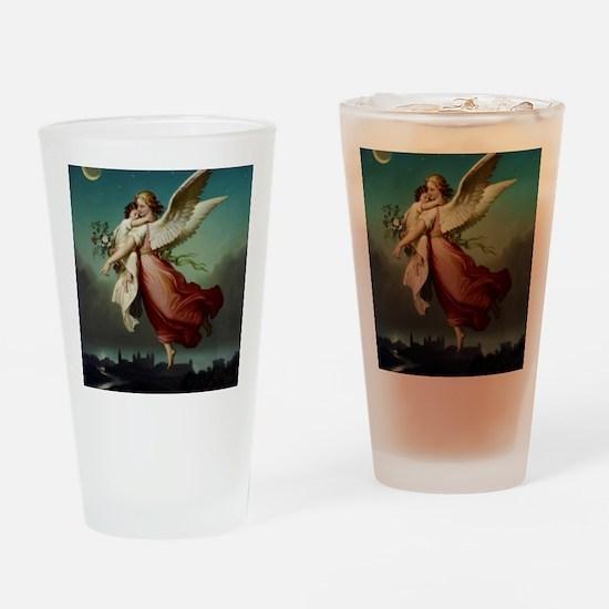 Guardian Angel by Wilhelm Von Kaulb Drinking Glass