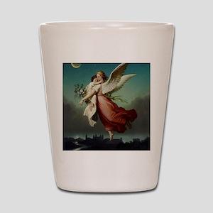 Guardian Angel by Wilhelm Von Kaulbach Shot Glass
