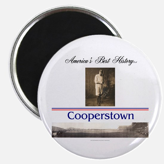 Cooperstown Americasbesthistory.com Magnet