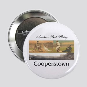 """Cooperstown Americasbesthistory.com 2.25"""" Button"""