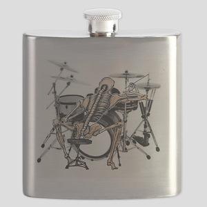 skeleton drummer  Flask