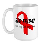 Red Friday ver4 Large Mug
