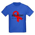 Red Friday ver4 Kids Dark T-Shirt