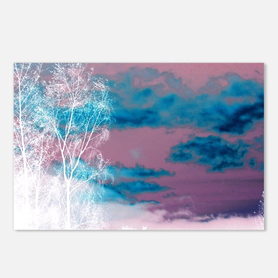 Magic sky Postcards (Package of 8)