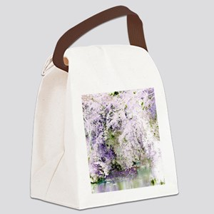 """Abstraction """"Nature"""" Canvas Lunch Bag"""
