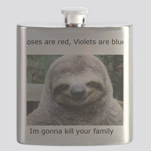Killer Sloth Flask