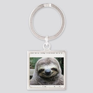 Killer Sloth Square Keychain
