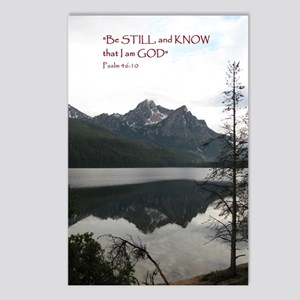 Be Still Sawtooth Mountai Postcards (Package of 8)