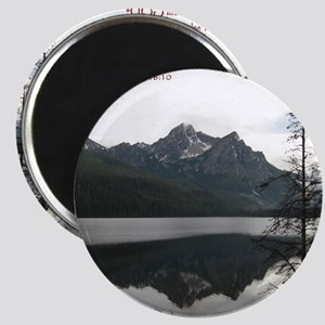 Be Still Sawtooth Mountains Magnet