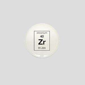 Zirconium Mini Button