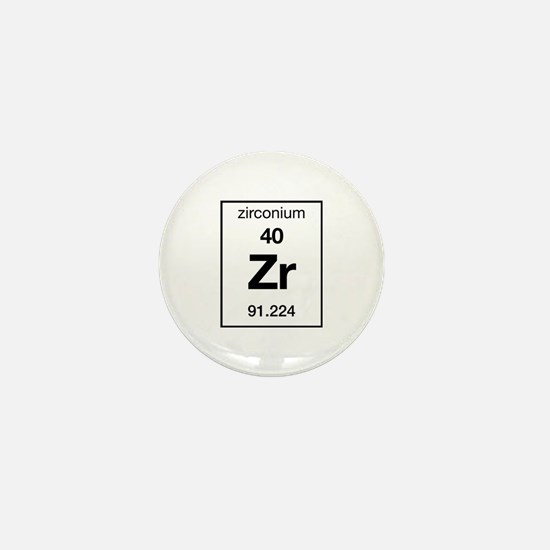 Zirconium Mini Button