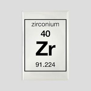 periodic table zirconium hobbies zirconium rectangle magnet - Periodic Table Zr