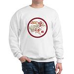 Mei Flowers Sweatshirt (Large Logo)