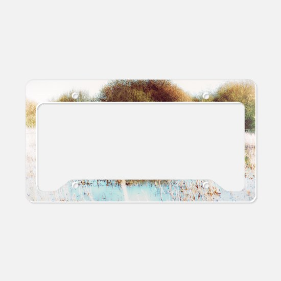 Explore More wilderness License Plate Holder