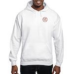 Mei Flowers (small logo) Hooded Sweatshirt