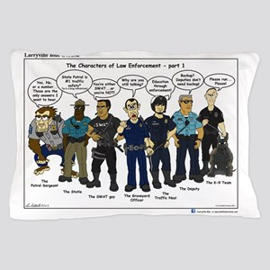 Characters of LE part 1 Pillow Case