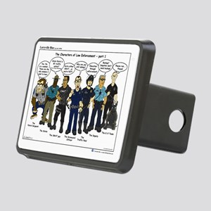 Characters of LE part 1 Rectangular Hitch Cover