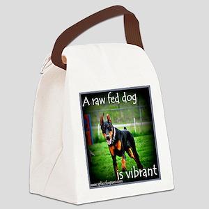 Raw Fed - Vibrant Canvas Lunch Bag