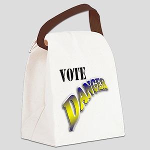 Vote Danger Canvas Lunch Bag