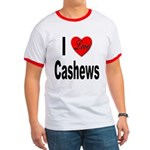 I Love Cashews Ringer T