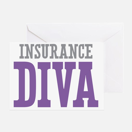 Insurance DIVA Greeting Card